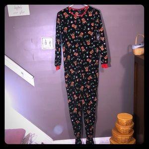 Women's Rene Rofe Holiday Footed Pajamas Small